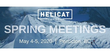 HeliCat Canada 2020 Spring Meeting tickets