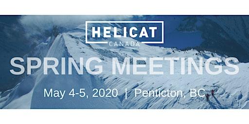 HeliCat Canada 2020 Spring Meeting