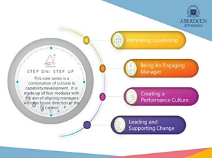 Leading and Supporting Change  (module 4 of the Step On: Step Up programme) tickets