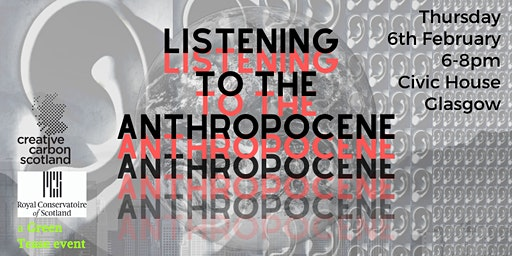 Listening to the Anthropocene