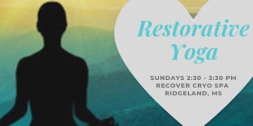 Restorative / Gentle / Yin Yoga