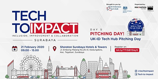 TECHTOIMPACT - PITCHING DAY SURABAYA