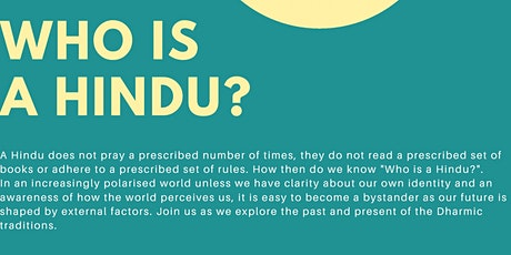 Who is a Hindu? tickets