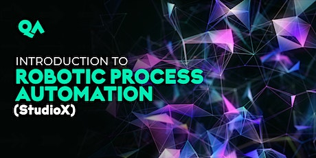 Introduction to Robotic Process Automation (StudioX) tickets