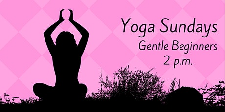 $10 Beginners Yoga tickets