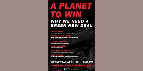 A Planet to Win: Why We Need a Green New Deal tickets