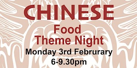 Food Theme Night - Chinese New Year Celebration tickets