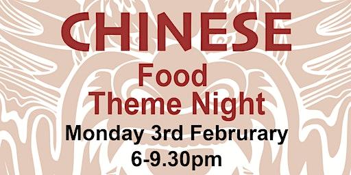 Food Theme Night - Chinese New Year Celebration