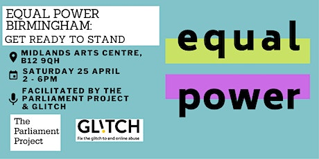 Equal Power Birmingham: Get Ready To Stand tickets