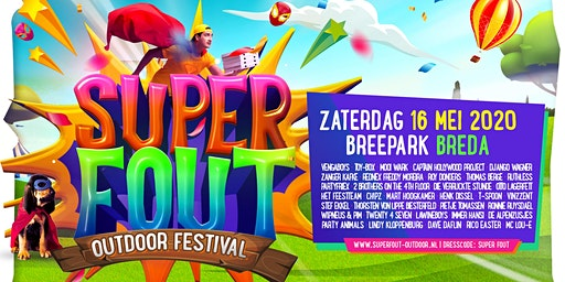Super Fout Outdoor - Breda