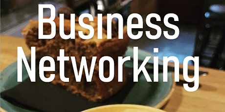 Postcode Advertising networking coffee morning tickets