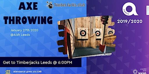 Leeds AOC Relaunch- Axe Throwing Social!