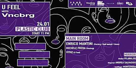 U Feel meets Veniceberg w/ Enrico Mantini biglietti