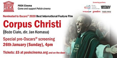 POSK Cinema: Corpus Christi - Sunday, 26th January, 4pm tickets
