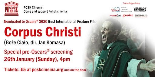 POSK Cinema: Corpus Christi - Sunday, 26th January, 4pm