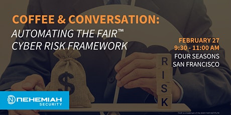 Coffee & Conversation:  Automating the FAIR™ Cyber Risk Framework tickets