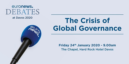 The Crisis of Global Governance: euronews debate