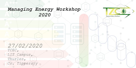Managing Energy Workshop 2020 tickets