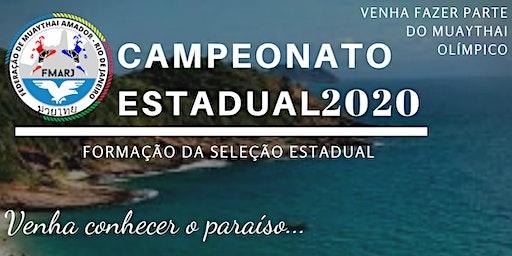 Campeonato Estadual de Muaythai 2020