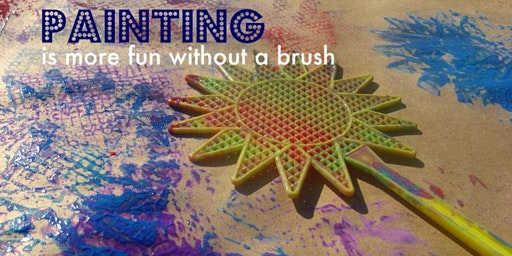 No Brush Art Process - Pre-School art class with Erin Simons