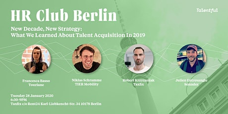 New Decade, New Strategy: What We Learned About Talent Acquisition in 2019 tickets