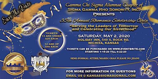 35thAnnual Rhomania Scholarship Gala