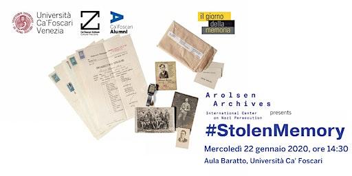 Stolen Memory: in mostra gli oggetti requisiti nei campi di concentramento