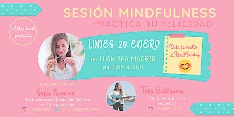 MINDFULNESS CONTRA EL BLUE MONDAY con Sofía Navarro entradas