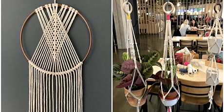 Macrame Dreamcatcher or Plant Hanger tickets