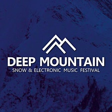 """DEEP MOUNTAIN """"Snow & Electronic Music Festival"""" logo"""