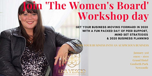 The Women's Board 2020 Mindset and business stratergy workshop