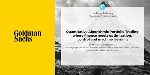 CUATS Event: Quantitative Algorithmic Portfolio Trading