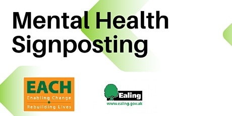 Mental Health and Wellbeing Drop-in and Signposting tickets