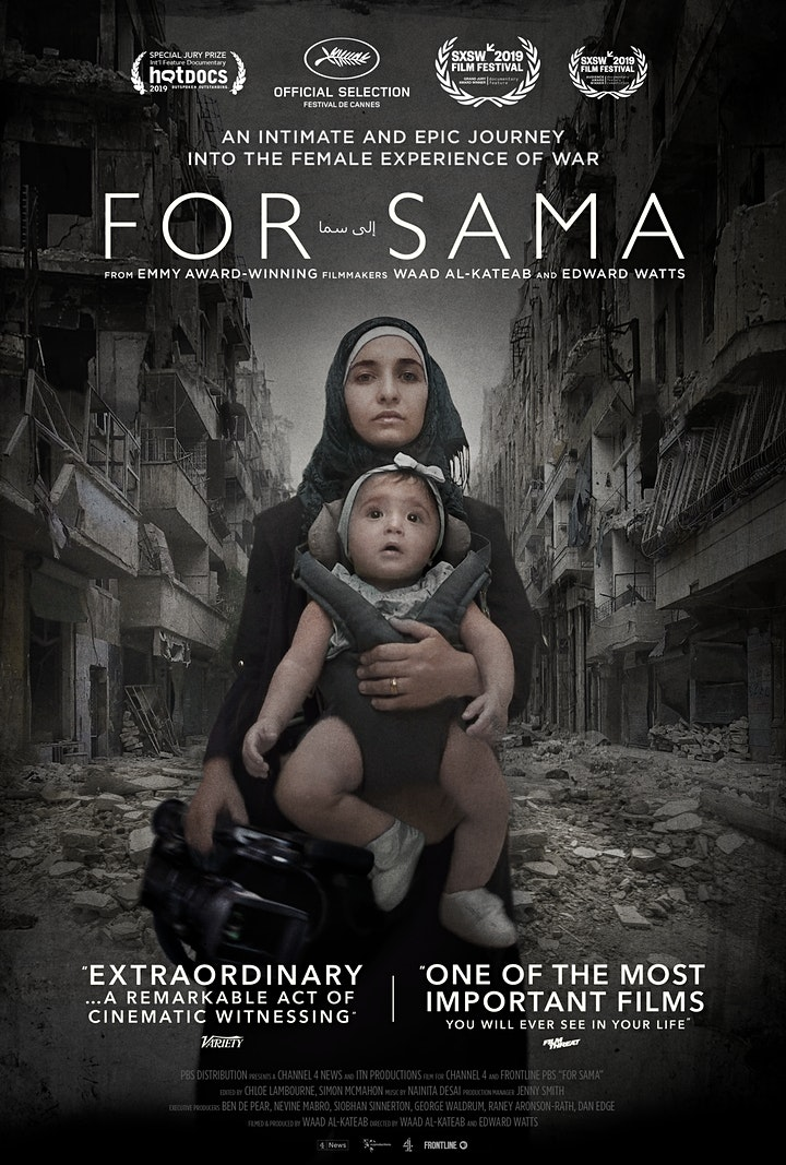 Screening of For Sama and Q & A with co Director Edward Watts image