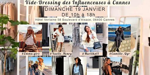 Vide-Dressing des Influenceuses à  Cannes