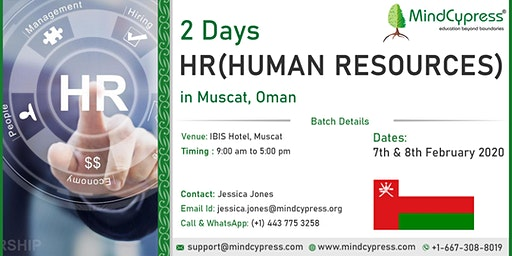 Human Resource Analytics 2 Days Training by MindCypress at Muscat