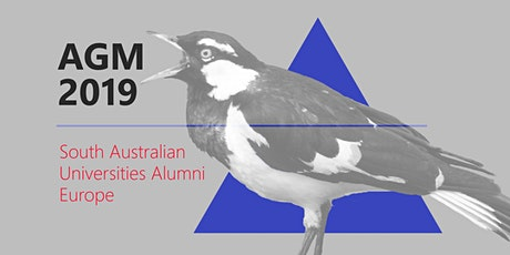 South Australian Universities Alumni European Network AGM 2019 tickets