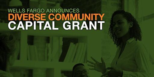 Wells Fargo Diverse Community Capital Grant Announcement