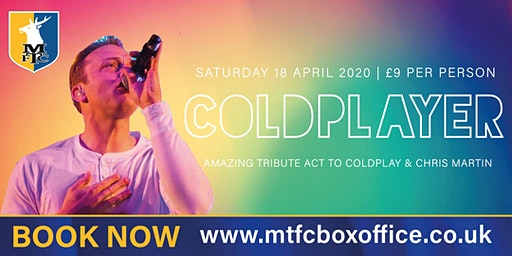 The Amazing Coldplayer - Tribute To Coldplay and Chris Martin