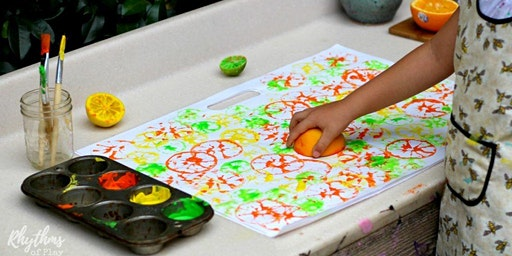 3 Day Printmaking - Pre-School Art Camp with Erin Simons