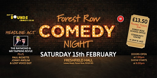 Forest Row Comedy Night
