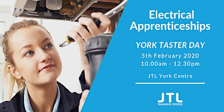 JTL York Taster Day Wednesday 5th February 10.00am - 12.30pm  tickets