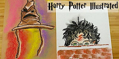 3 Day Potter Illustrated - Tween Art Camp with Erin Simons tickets
