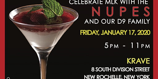 "MLK Weekend Celebration this Friday! NRWP ALUMNI Presents ""Kappas @ Krave""  Happy Hour/Networking Mixer"