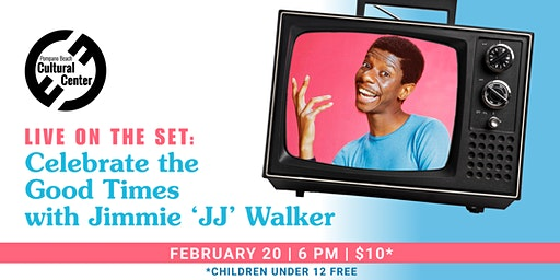 """Live on the Set: Good Times with Jimmie """"JJ"""" Walker"""