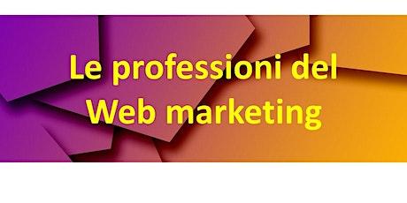 Le professioni del web marketing biglietti