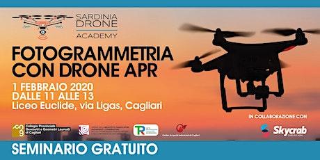 Fotogrammetria con drone APR - seminario gratuito biglietti
