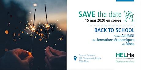 Save The Date - Soirée alumni Économique Mons billets