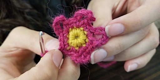 Crocheting with Rose