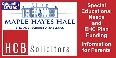 Special Educational Needs and EHCP funding Seminar tickets